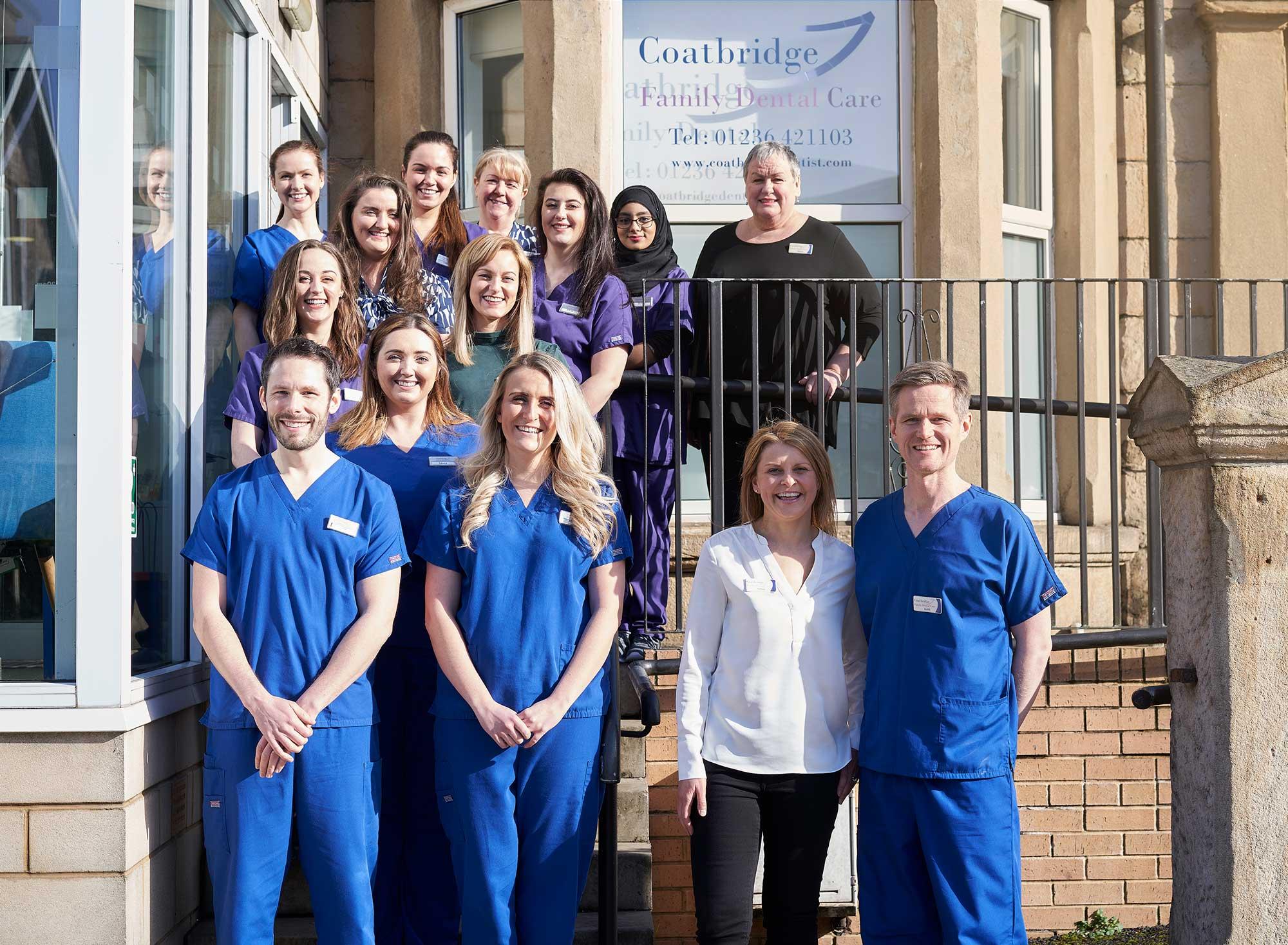 Coatbridge Family Dental team